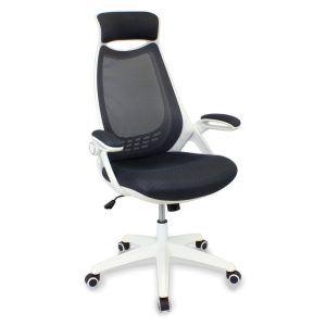 Silla de escritorio blanca oferta