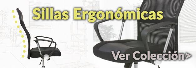 Silla ergonómicas de oficina baratas
