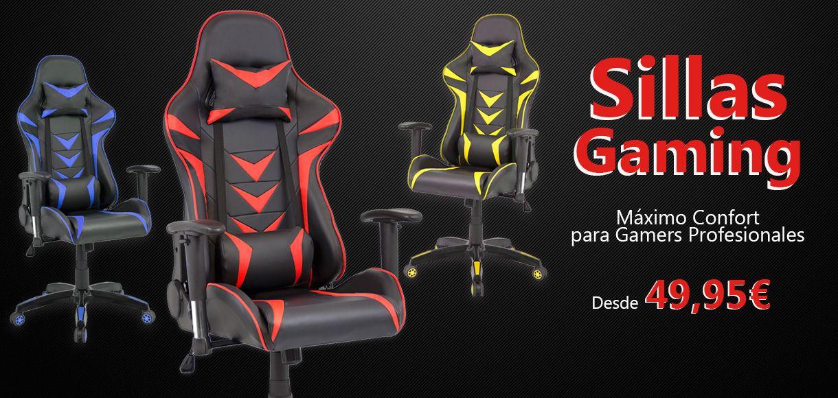 Sillas Gaming Baratas, sillas de escritorio juvenil